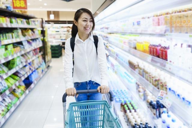 毎日の食料品、日用品などの買い出しや、ちょっとした買い物にも便利!